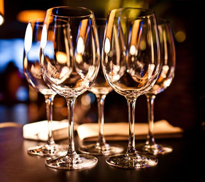 Santa Monica Glassware Rentals